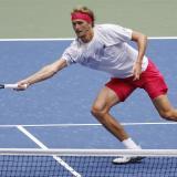 Alexander Zverev es el quinto cabeza de serie en el US Open.
