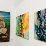 En el aislamiento selectivo, 33 pintores exponen en oficina de Cultura samaria