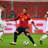 Alemania y España disputaron el partido más atractivo de la jornada.