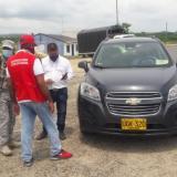 La Policía, el Ejército y la Secretaría del Interior de Cartagena realizan controles a los acceso a zonas insulares como Barú.