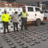 Policía de Sucre incauta 120 kilos de cocaína