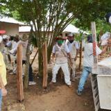 Asisten a las comunidades indígenas en medio de la pandemia