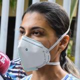 Dalila Peñaranda recibió 15 días de incapacidad por los golpes que le dieron, sobre todo, en el rostro.