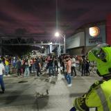 En video   Protesta de jóvenes en Barranquilla por muerte de abogado