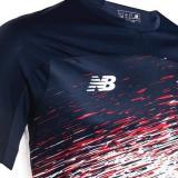 La parte superior de la nueva camiseta de Junior.