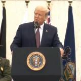 """Trump pide """"unidad"""" en el recuerdo de las víctimas del vuelo 93 del 11S"""