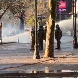 Un menor herido y 108 detenidos en aniversario de golpe de Estado de Pinochet