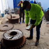 En video | Incautan 551 kilos de cocaína en un taller del barrio San José