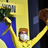 El esloveno Primoz Roglic (Jumbo Visma), líder del Tour de Francia.