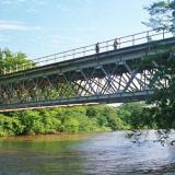 El puente Rafael Escalona, sobre el río Cesar, uniría la nueva vía Valledupar-La Paz.
