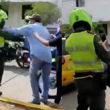 Médico y policía se agreden a golpes en Valledupar