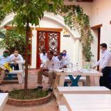 Alcaldía de Ciénaga hace seguimiento a la socialización del nuevo puerto