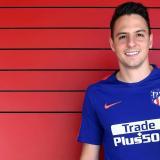 Santiago Arias se incorporó a la pretemporada con el cuadro 'colchonero'.