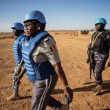 Los cascos azules, el arma de la ONU en la titánica tarea de la paz mundial