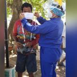 Realizan pruebas Covid a trabajadores del mercado público de Soledad