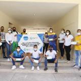 Gestora social en La Guajira ha entregado 90 mil tapabocas