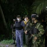 El alcalde William Dau encabezó los operativos esta madrugada en La Boquilla.