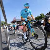 El ciclista colombiano Miguel Ángel 'Supermán' López.