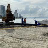 En video   Llegaron equipos para oxigenar agua en El Laguito