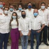 Nueve de los concejales de Cartagena luego de aprobar la incorporación de $88.000 millones al presupuesto distrital.