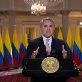 Duque pide rechazar proceso en Venezuela que busca legitimar a Maduro