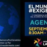 En video | Primera conferencia internacional del acuerdo de paz