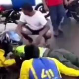 Policía es arrollado por hombre que intentó evadir comparendo