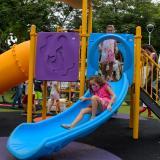 Distrito entrega tres nuevos parques en la localidad Riomar