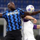 Lukaku en acción con el Inter de Milán.
