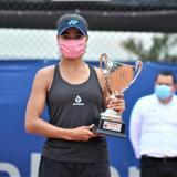 Mafe Herazo, tenista barranquillera.
