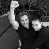 Joaquín Phoenix y Rooney Mara tienen un hijo y lo nombran River