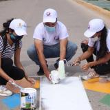 Alcaldía de Riohacha inicia acciones de urbanismo táctico