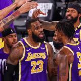 Los Ángeles Lakers buscarán el título de NBA de la mano de LeBron James.