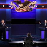 En video   Insultos y caos protagonizaron primer debate entre Trump y Biden