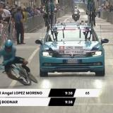 Miguel Ángel López protagoniza el primer retiro del Giro de Italia