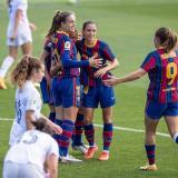 El FC Barcelona se quedó con el primer 'Clásico' de la historia en el fútbol femenino.