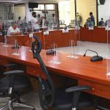 Aspecto de la sesión del Concejo de Barranquilla.