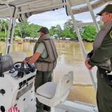 Autoridades refuerzan seguridad por el río Sinú en Montería