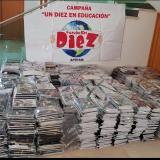 En Tasajera robaron kits escolares de un camión estando en marcha