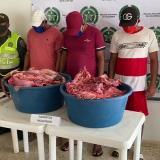 Cayeron 'los Cuatreros': tres adultos capturados y un menor aprehendido