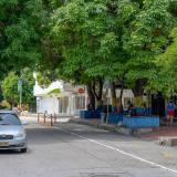 Una de las calles en las que se registran los atracos.