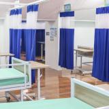 Las unidades hospitalarias tienen baja ocupación.