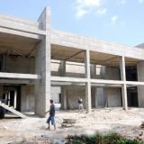 En obra gris permanece la construcción del auditorio con capacidad para 700 personas en la Quinta de San Pedro Alejandrino.