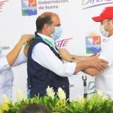 Defensor del Pueblo recibe exaltación en primera visita a Sucre