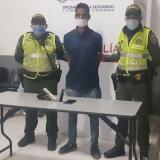 Fredy Enrique Jiménez Zúñiga, capturado.