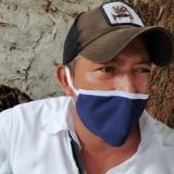 John Avellaneda, administrador de parqueadero.