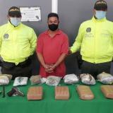 Le hallaron marihuana y una pistola en Carrizal