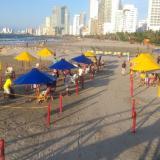 Las autoridades destacaron el buen comportamiento de los ciudadanos que asistieron a las playas piloto.
