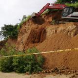 Intervienen cerro en Santa Marta para evitar tragedia por alud