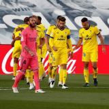 Sergio Ramos salió del compromiso frente al Cádiz por molestias físicas.